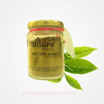 Tinh bột trà xanh thiên nhiên Bisure